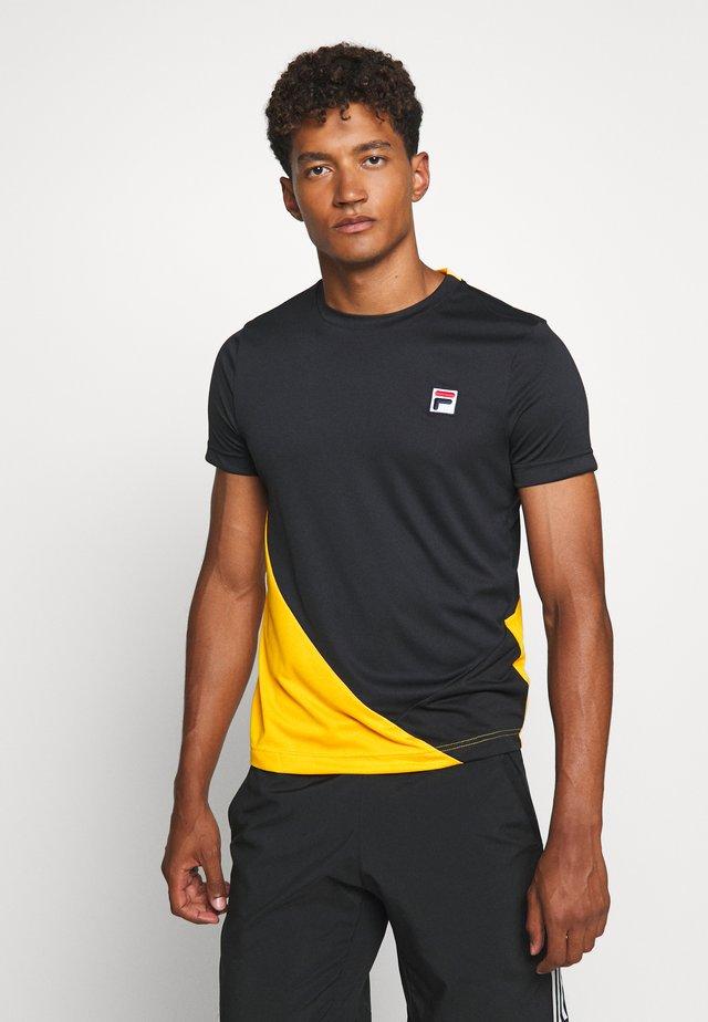LEON - T-shirt med print - black