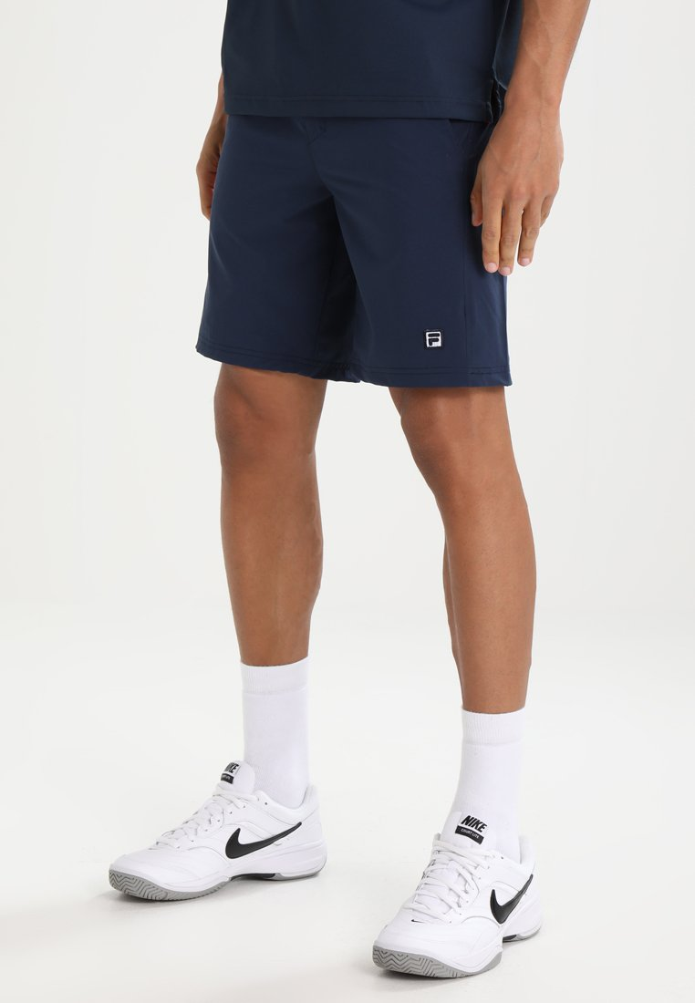 Fila - SHORT SANTANA - Korte sportsbukser - peacoat blue
