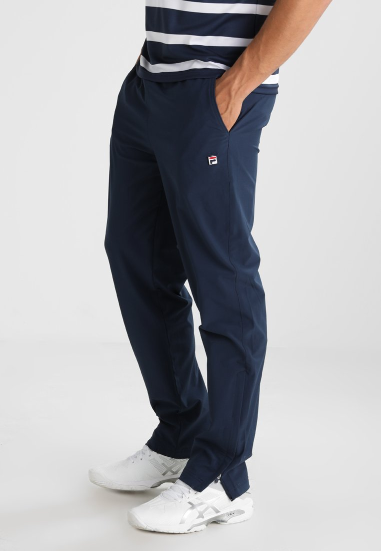 Fila - PANT PRO2 - Tracksuit bottoms - peacoat blue