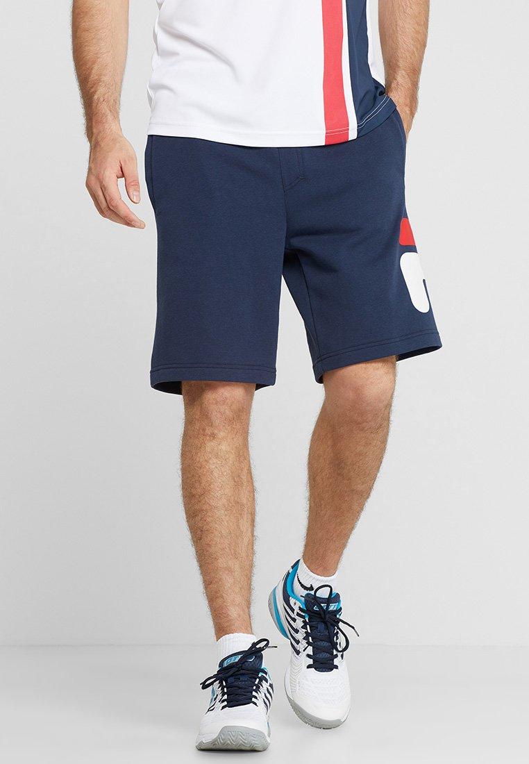 Fila - ROBERT - Pantalón corto de deporte - peacoat blue
