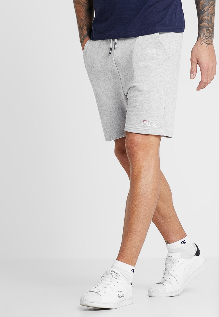 Fila - AMIR SHORTS - Sports shorts - light grey melange