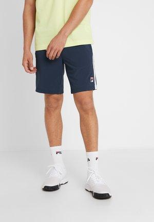 SHORT  - Short de sport - peacoat blue/white