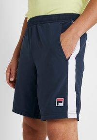 Fila - SHORT  - Short de sport - peacoat blue/white - 4