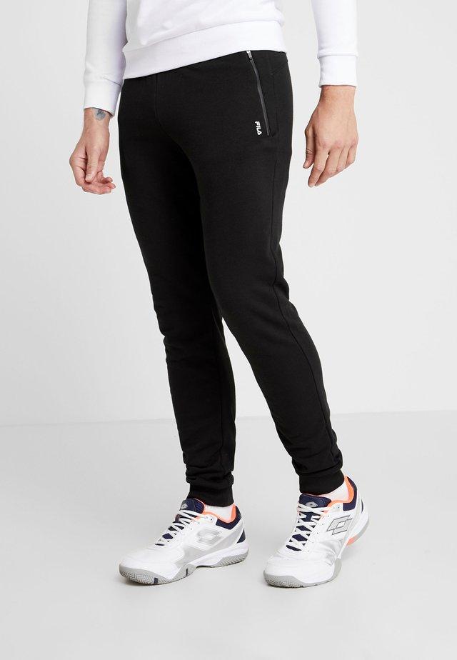 KIRK - Spodnie treningowe - black