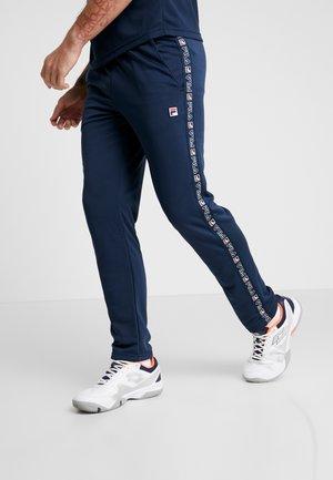PANT PIUS - Pantaloni sportivi - peacoat blue