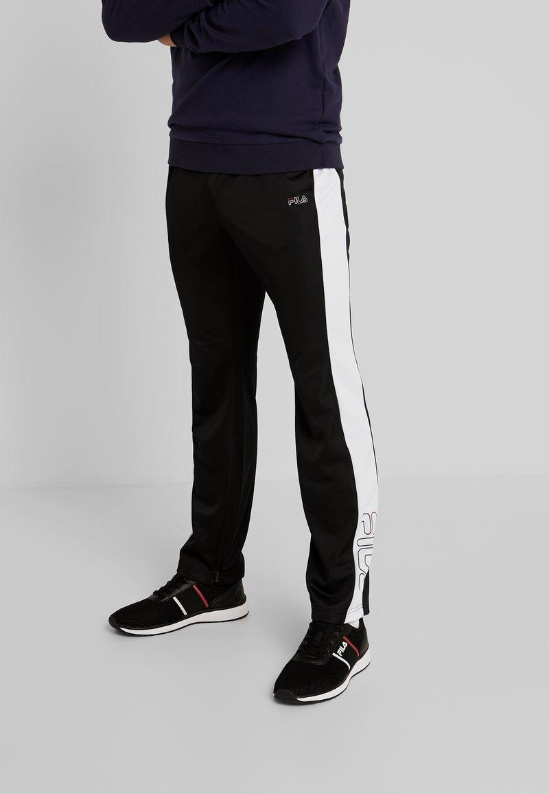 Fila - SENN - Pantaloni sportivi - black/bright white