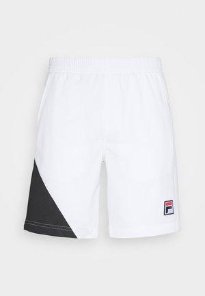 SHORT NICOLAS - Pantaloncini sportivi - white