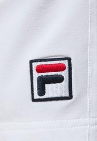 Fila - SHORT NICOLAS - Urheilushortsit - white - 4