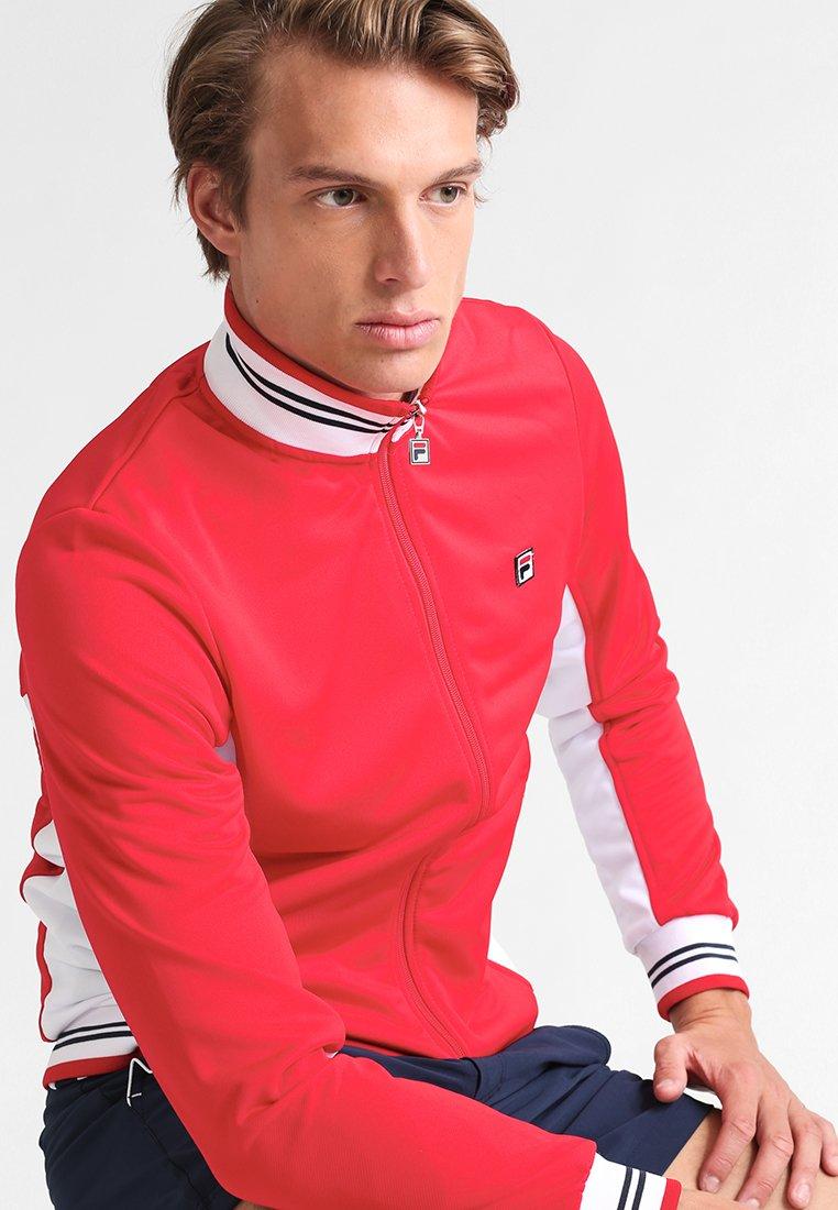 Fila - OLE - Training jacket - red/white