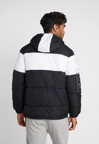 Fila - DEWE - Winterjas - black/bright white - 2