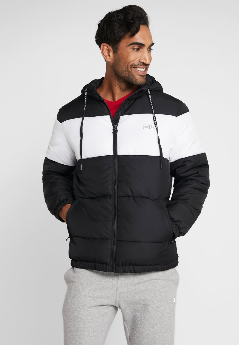 Fila - DEWE - Winterjas - black/bright white