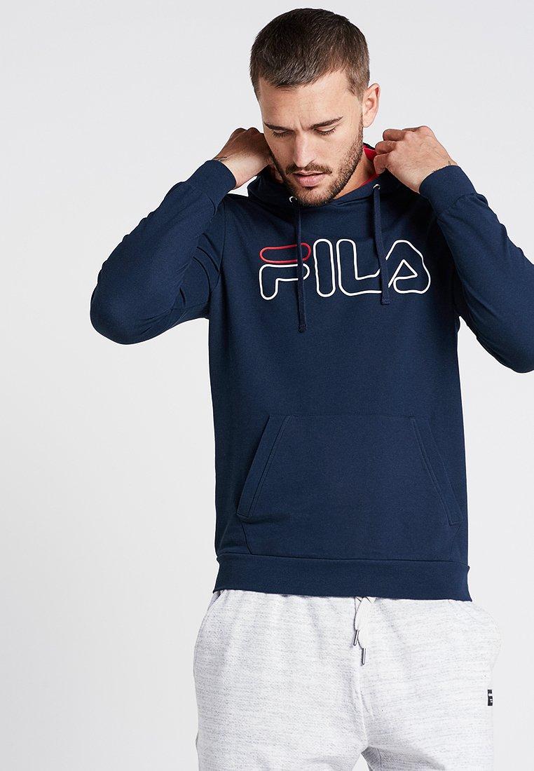 Fila - HOODY WILLIAM - Bluza z kapturem - peacoat blue