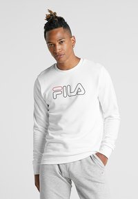 Fila - LIAM CREW - Sweatshirt - brightwhite - 0