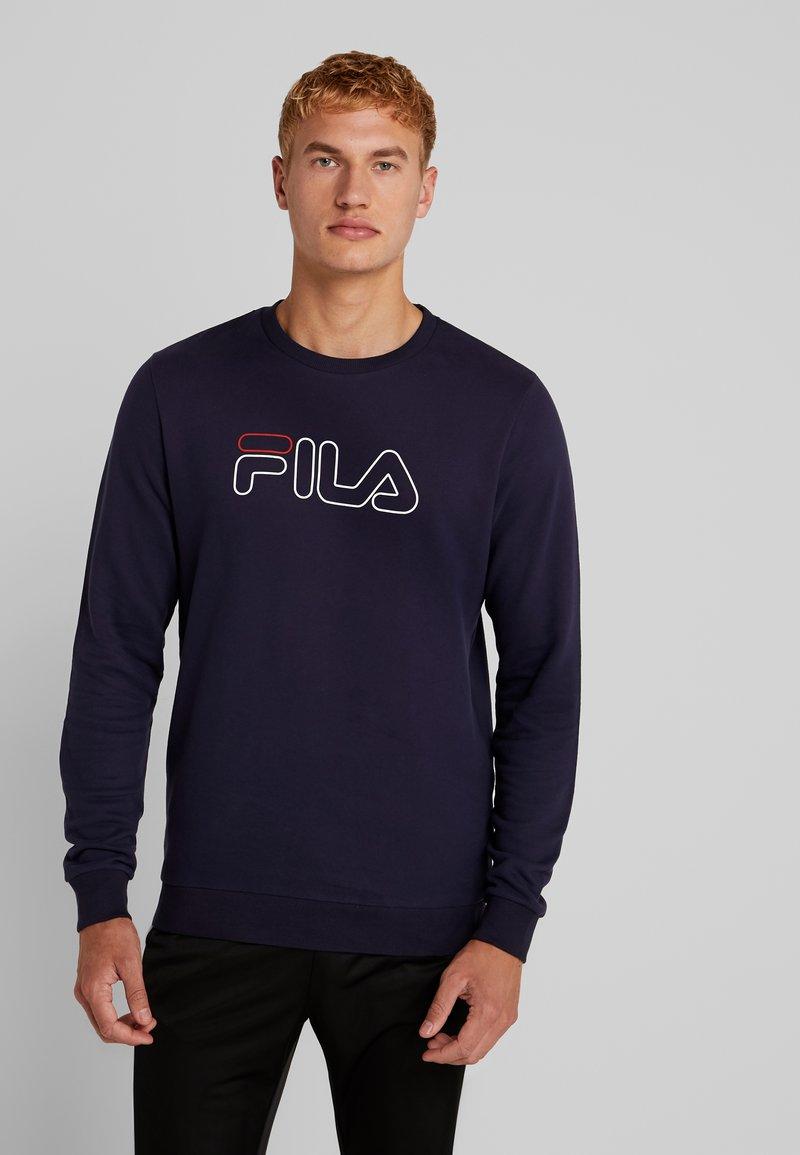 Fila - LIAM CREW - Sweatshirt - black iris
