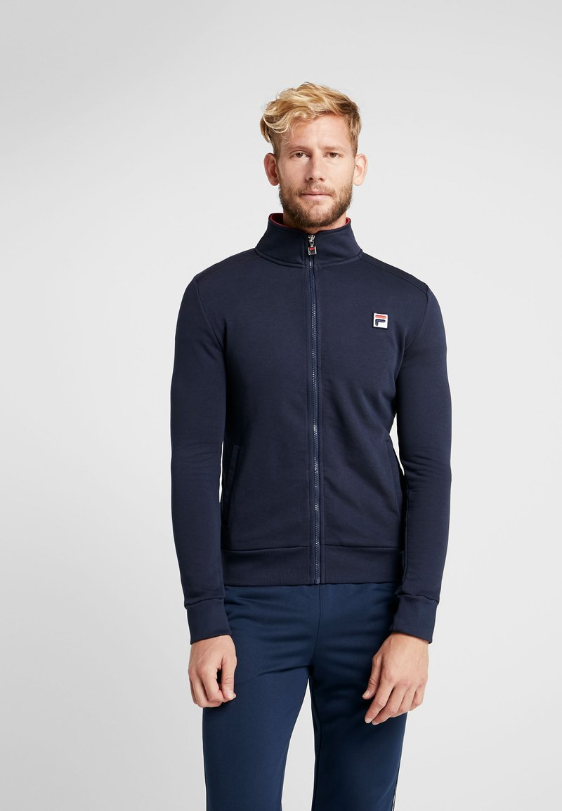 Fila - ROB - Zip-up hoodie - peacoat blue