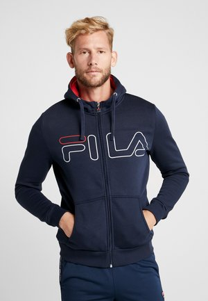 WILLI - Zip-up hoodie - peacoat blue
