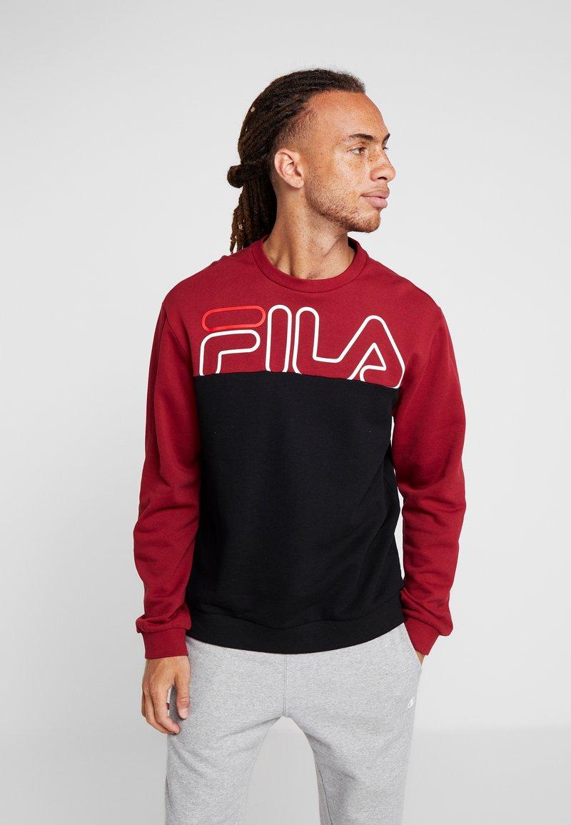 Fila - Sweater - rhubarb/black