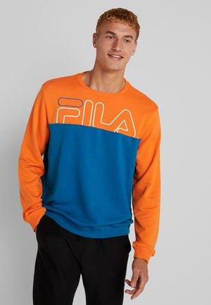 Sweatshirt - celestial/celosia orange