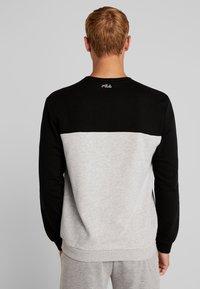Fila - Sweater - black/light grey melange bros - 2