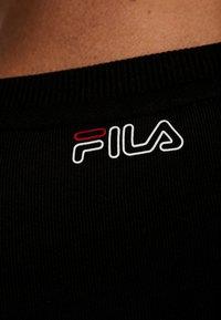 Fila - Sweater - black/light grey melange bros - 5