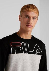 Fila - Sweater - black/light grey melange bros - 3