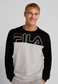 Fila - Sweater - black/light grey melange bros - 0