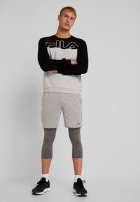 Fila - Sweater - black/light grey melange bros - 1