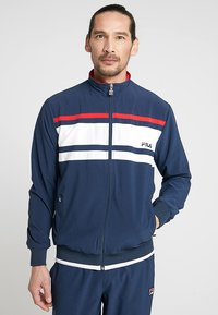 Fila - SUIT THEO - Dres - peacoat blue/white/red - 0