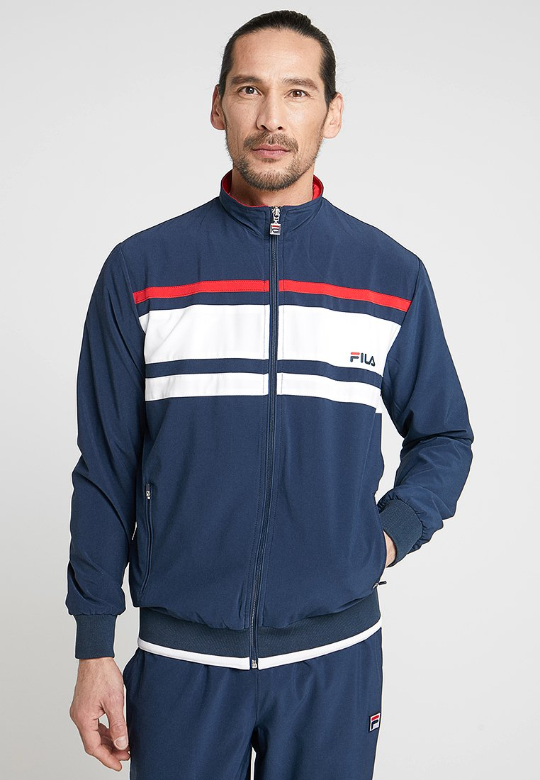 Fila - SUIT THEO - Chándal - peacoat blue/white/red