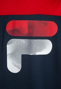 Fila - TIM - Camiseta estampada - peacoat blue/red - 2