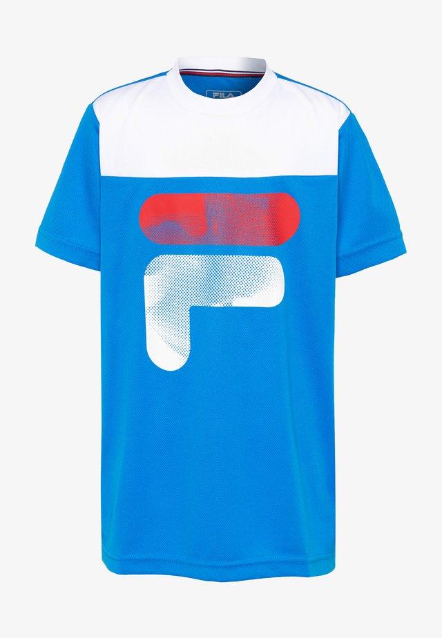 TIM - Print T-shirt - simply blue/white