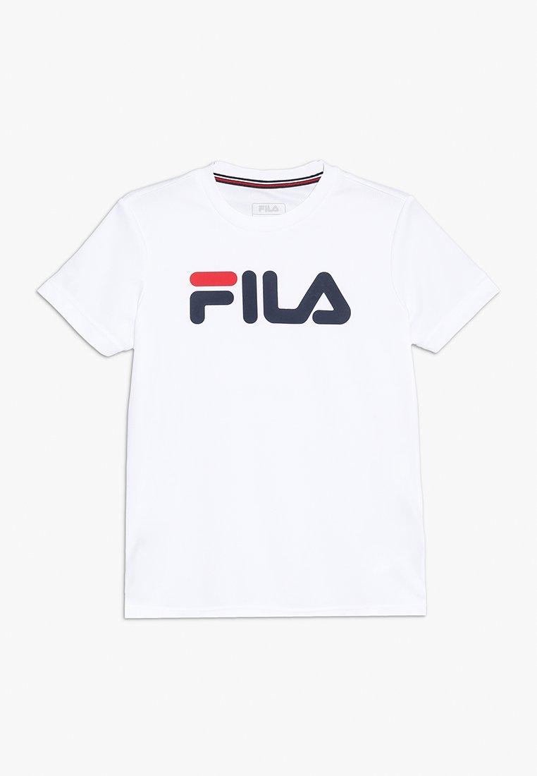 Fila - LOGO - T-shirt imprimé - white