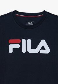 Fila - LOGO - T-shirt imprimé - peacoat blue - 3