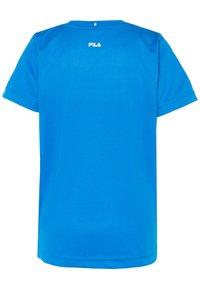 Fila - LOGO - Print T-shirt - simply blue - 1