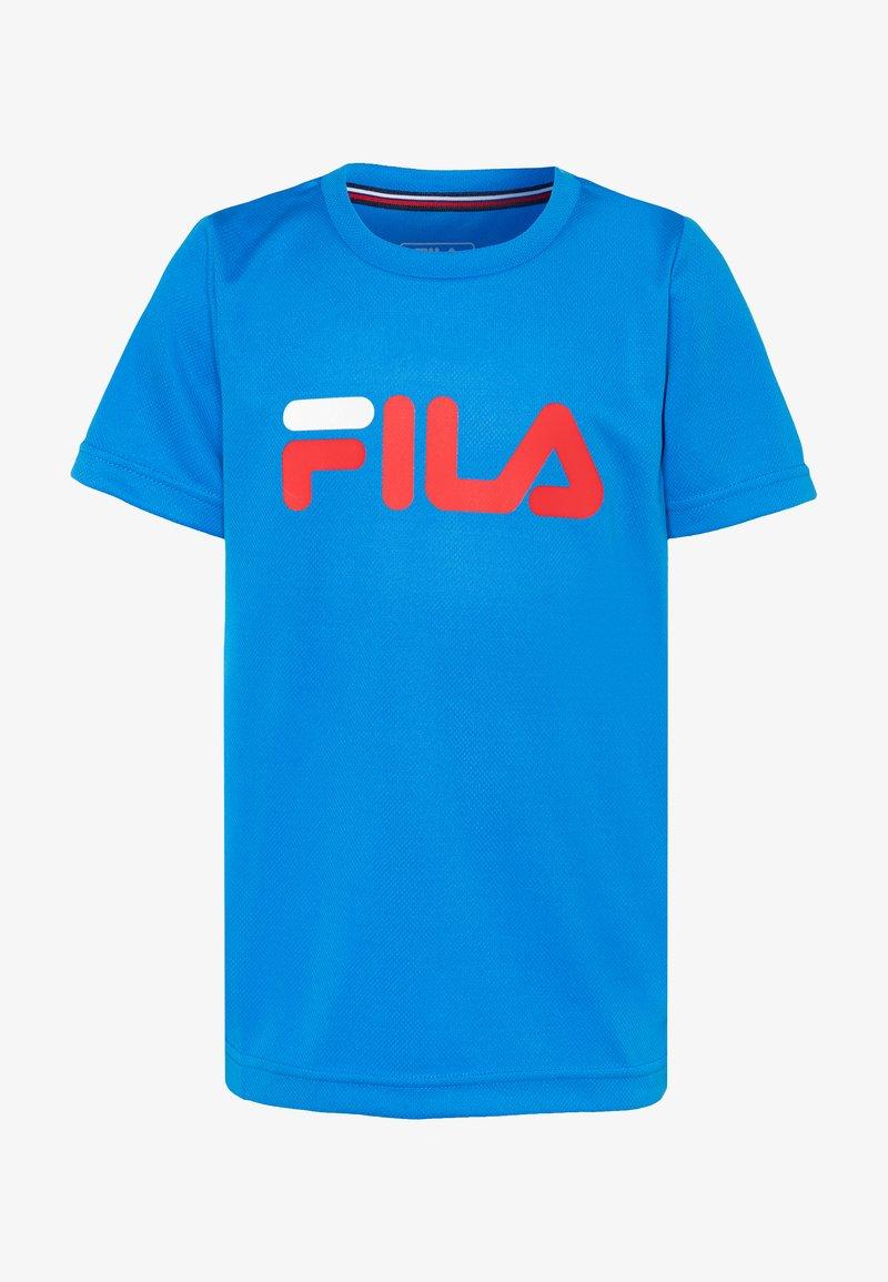 Fila - LOGO - Print T-shirt - simply blue