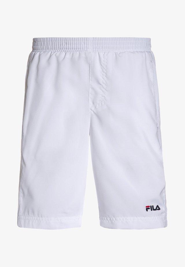 SVEN KIDS - Pantalón corto de deporte - white