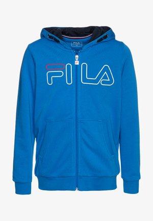 WILLIAM - Zip-up hoodie - simply blue