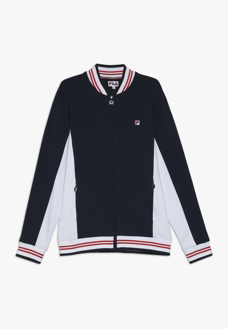 Fila - JACKET OSCAR KIDS - Training jacket - peacoat blue/white