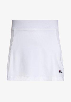 SONIA - Sportovní sukně - white