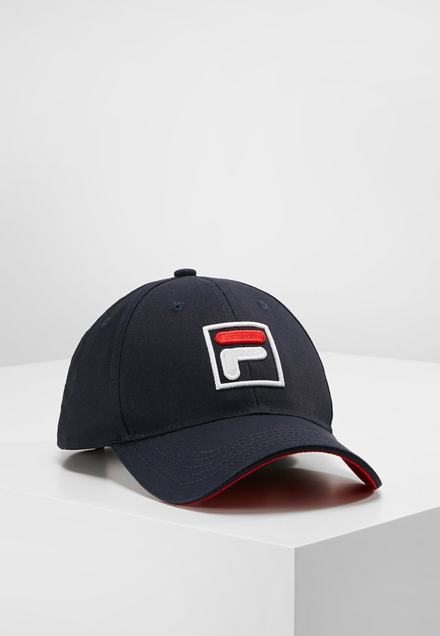 BASEBALL FORZE - Casquette - peacoat blue/fila red