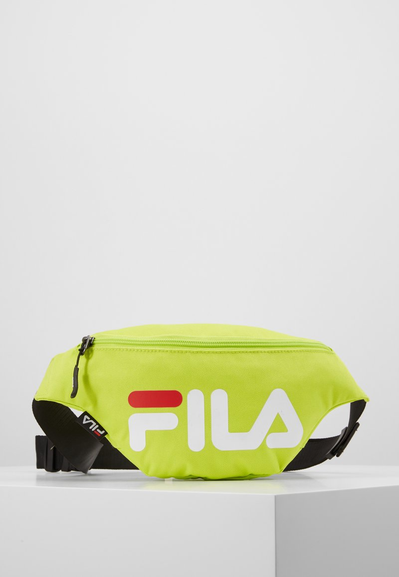 Fila - WAIST BAG SLIM - Bum bag - acid lime