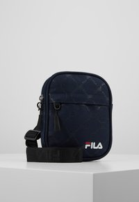 Fila - NEW PUSHER BAG BERLIN - Bandolera - black iris - 0