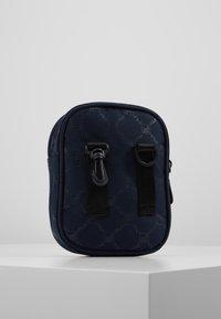 Fila - NEW PUSHER BAG BERLIN - Bandolera - black iris - 2