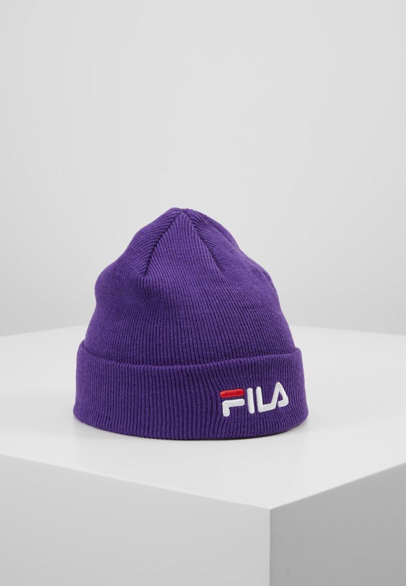 Fila - BEANIE LINEAR LOGO - Lue - tillandsia purple