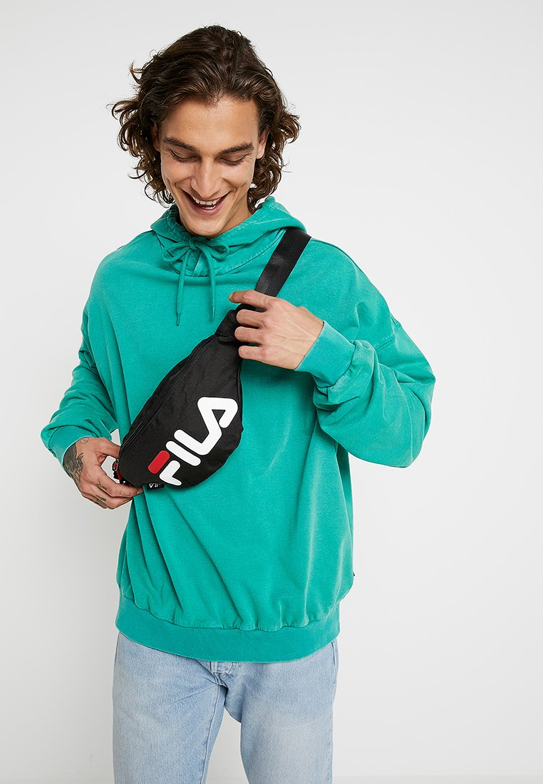 Fila - WAIST BAG SLIM - Heuptas - black