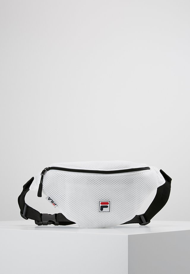 WAIST BAG SLIM - Vyölaukku - white