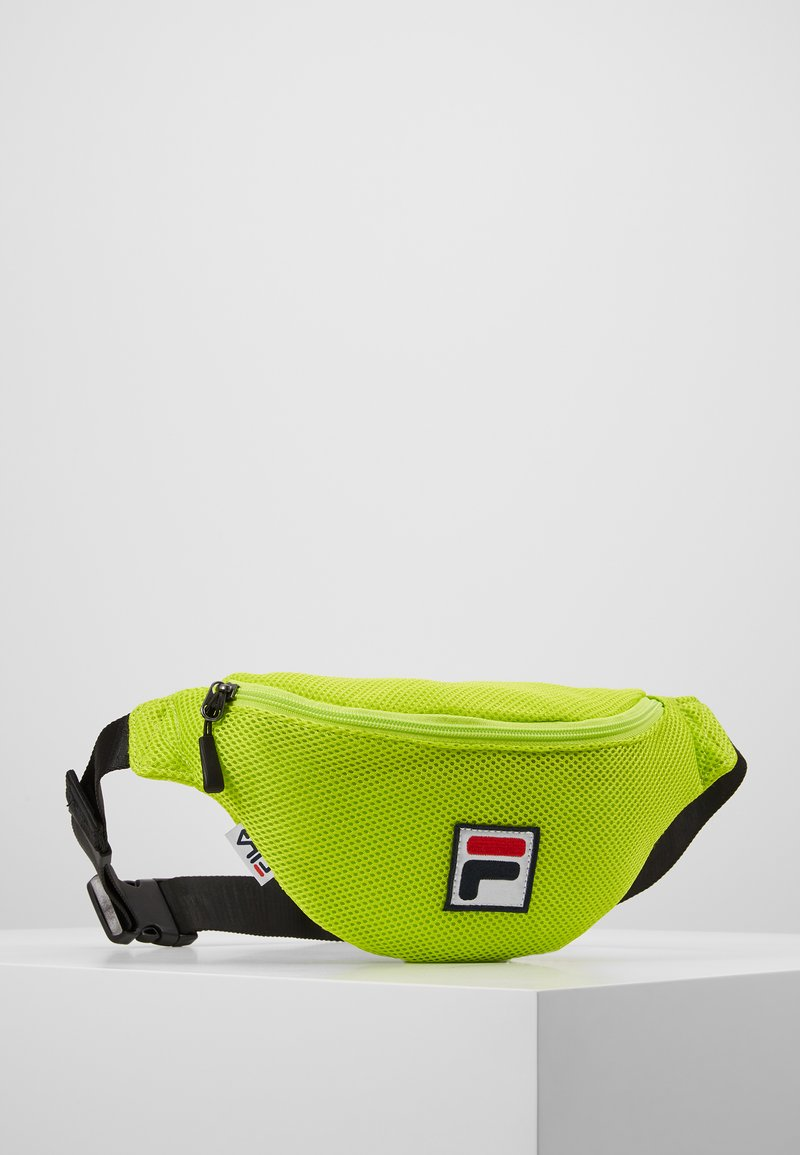 Fila - WAIST BAG SLIM - Saszetka nerka - acid lime