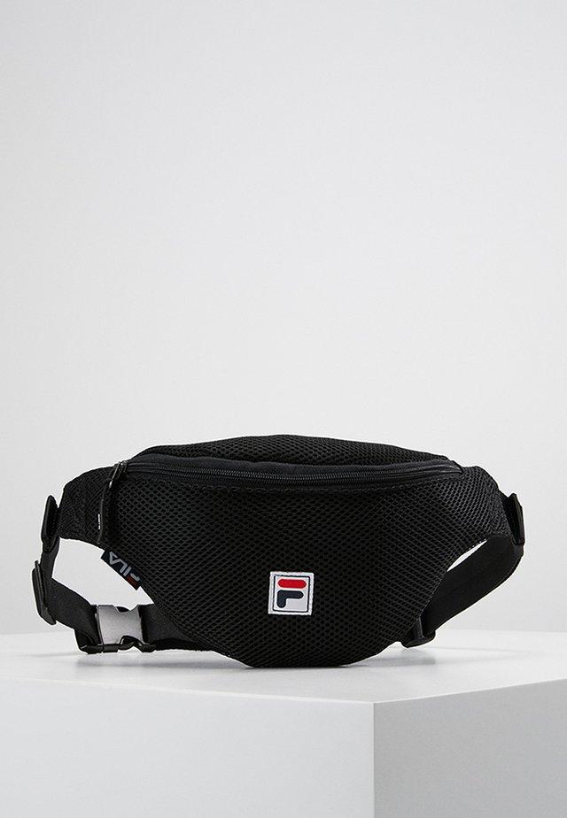 WAIST BAG SLIM - Bältesväska - black