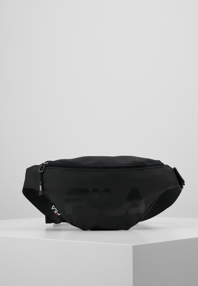 WAIST BAG SLIM - Bum bag - black