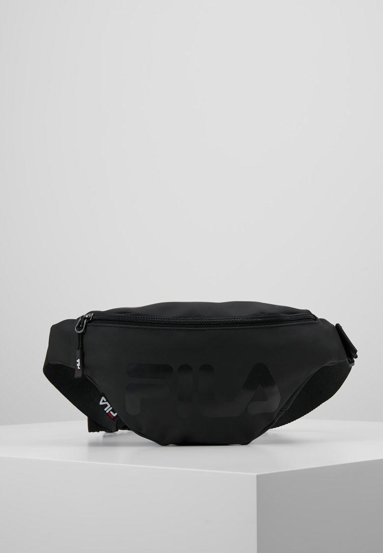 Fila - WAIST BAG SLIM - Vyölaukku - black